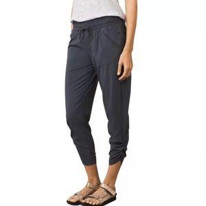 prAna Midtown Capri Pants XS Coal Dark Gray